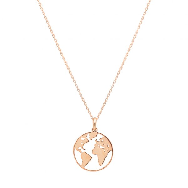 Halskette - One World