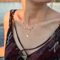 Halskette - Plättchen