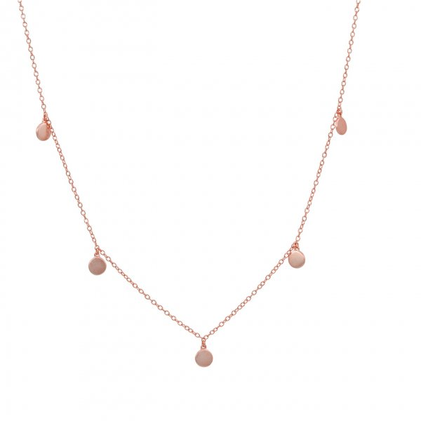 Halskette - 5 Coins