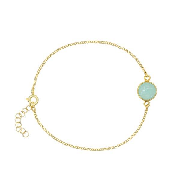 Armband - Aqua Chalcedon
