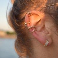 Ear cuff - Triple