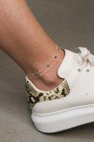 Fußkettchen - Dots