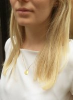 Halskette - Plättchen big
