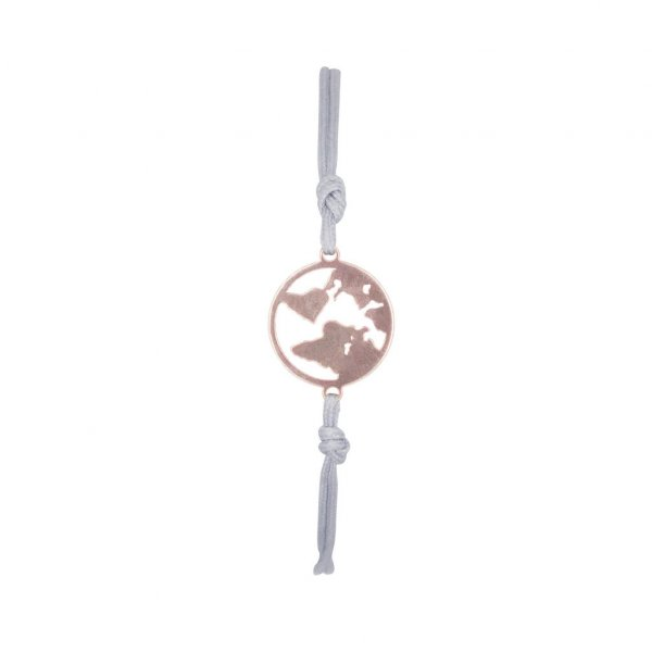 Armband One World in rosé