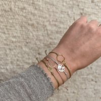Armband 2 Rings in rosé