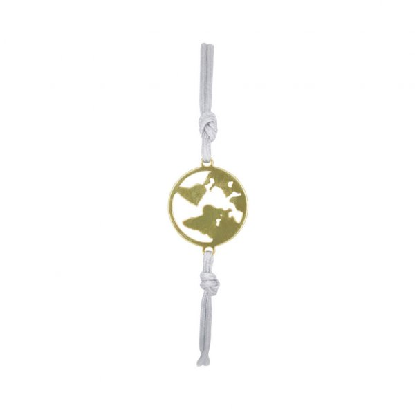 Armband One World in gold