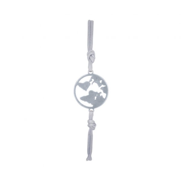 Armband One World in silber