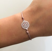Armband Flower Of Life in silber