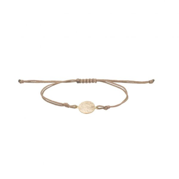 Armband Plättchen in gold
