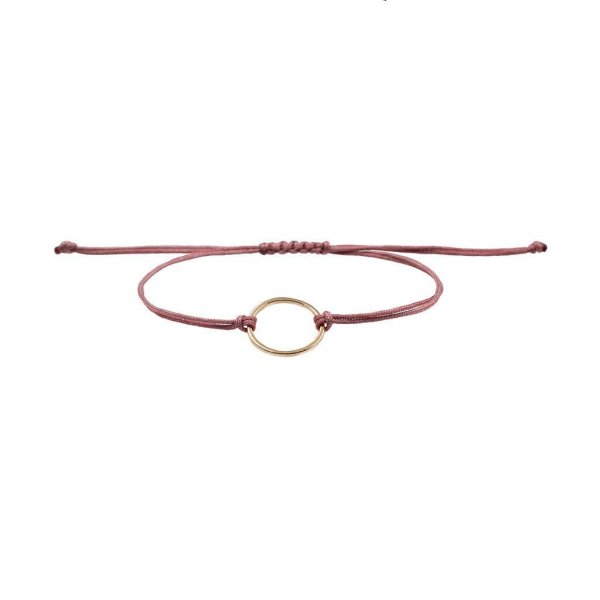 Armband Ring in gold