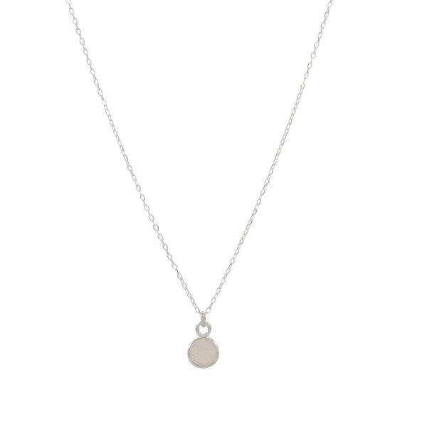 Halskette - Mondstein