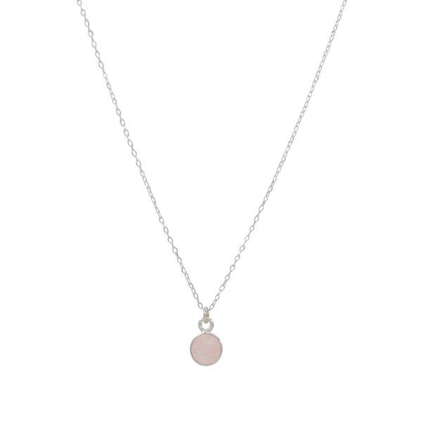 Halskette - Rosenquarz