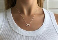 Halskette - Half Moon small