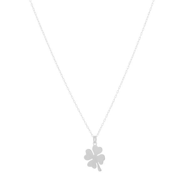 Halskette - Kleeblatt