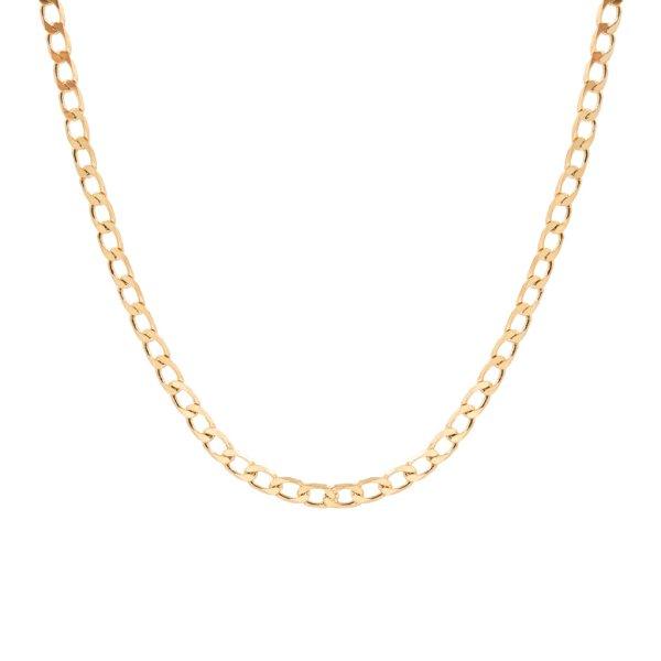 Halskette - Curb Chain