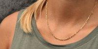 Halskette - Figaro II